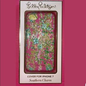 Lilly Pulitzer Pink SOUTHERN CHARM iPhone Case